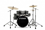 17500110 AQ1 Studio Set PB 11234 Барабанная установка, черная, Sonor